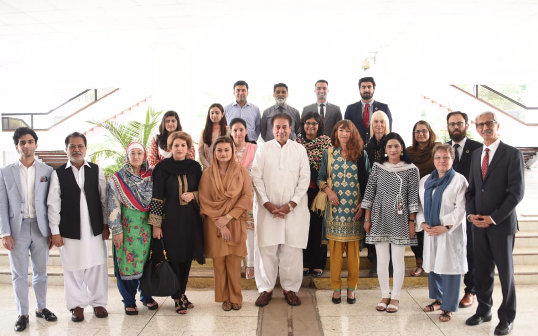Mary delivers first international keynote in Pakistan